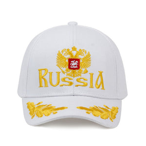 New Unisex Cotton Outdoor Baseball Cap Russian Emblem Embroidery Snapback Fashion Sports Hats For Men & Women Patriot golf Caps