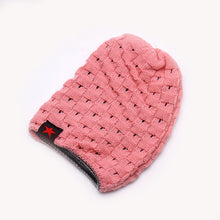 Load image into Gallery viewer, Winter Warm Men Star Skull Chunky Hat Women Knit Beanie Reversible Baggy Snow Cap Male Oversize Cap Warm Causal Accessories