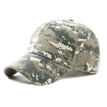 Load image into Gallery viewer, Adjustable Men Army Camouflage Camo Cap Camouflage Hats Climbing Cap For Hunting  Fishing Desert Hat