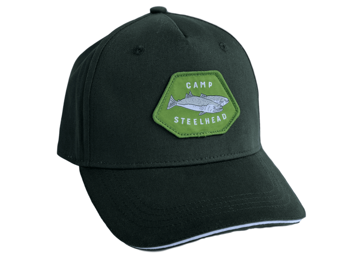 Camp Steelhead Unisex Ball Cap - Green