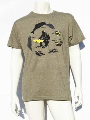 Men's Steelhead Lifecycle T-shirt - SacredSteelhead.com