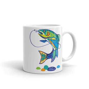 Jumpin' Steelhead Coffee Mug - SacredSteelhead.com