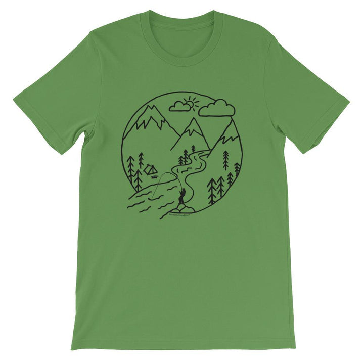 Camp Steelhead Getaway Unisex T-shirt