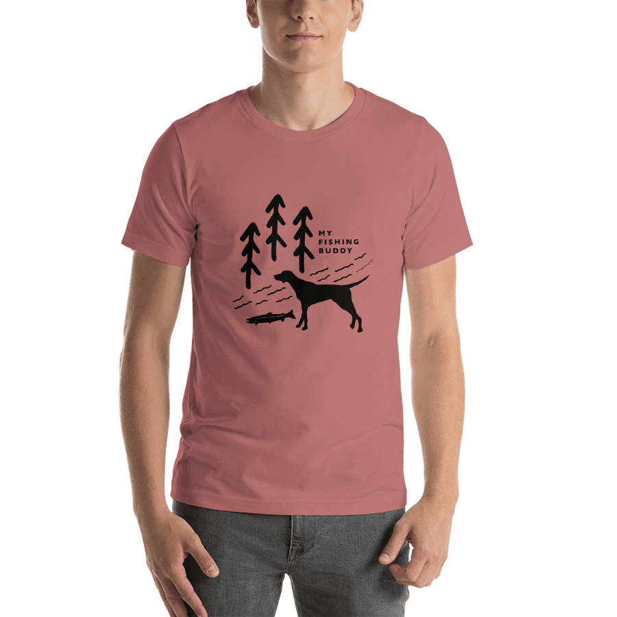 Fishing Buddy T-shirt - SacredSteelhead.com