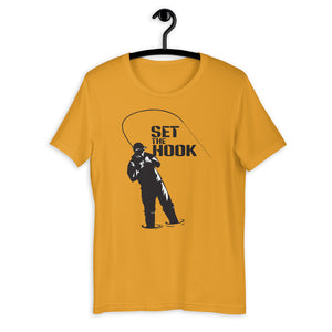 SET THE HOOK T-Shirt - SacredSteelhead.com