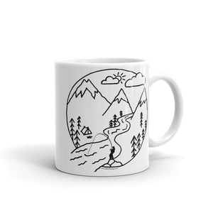 Camp Steelhead Mug - SacredSteelhead.com