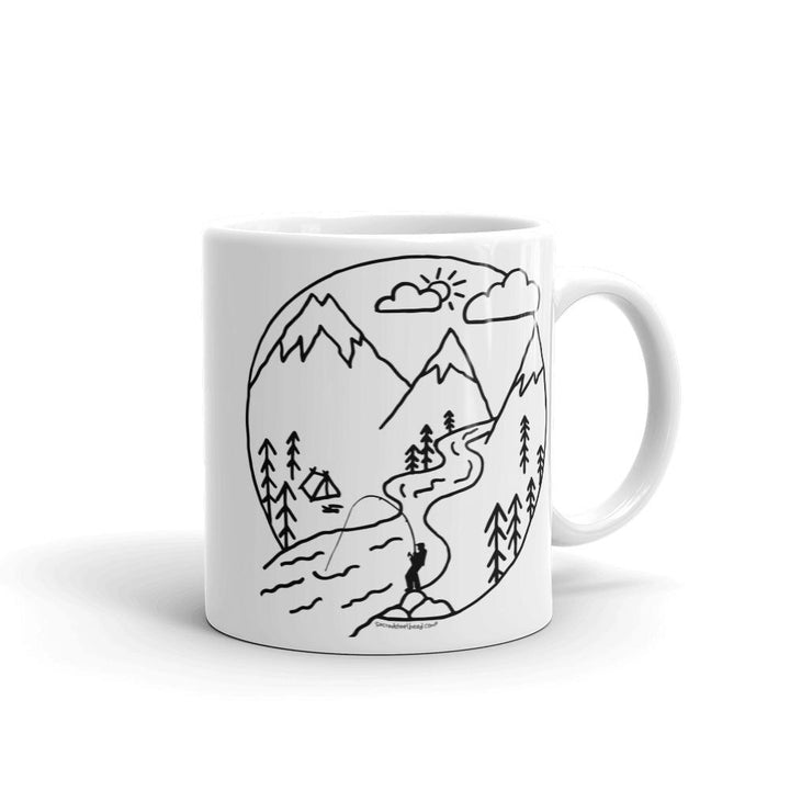 Camp Steelhead Mug [NEW!] - SacredSteelhead.com