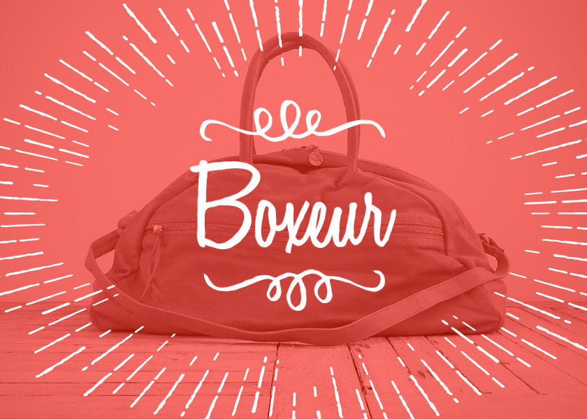 The Boxeurs - Vive Ninette | One of a kind leather handbags