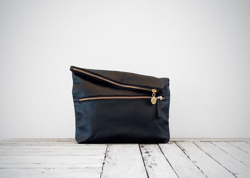 The Foldovers - Vive Ninette | One of a kind leather handbags