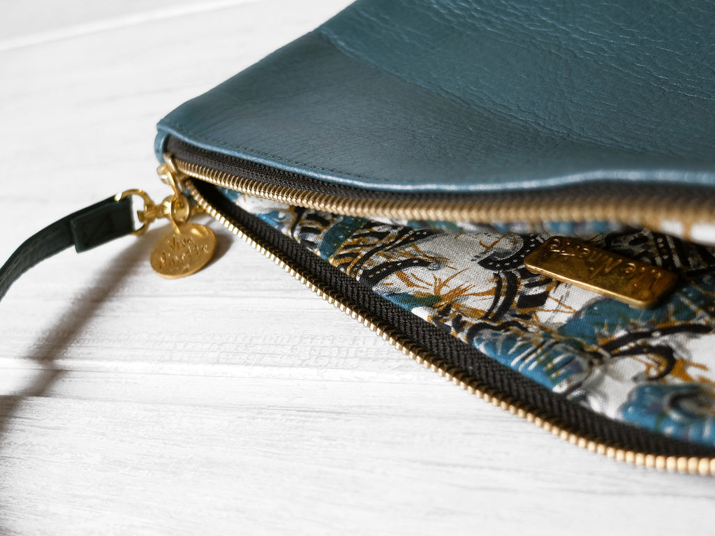 Clutch petite | Ottanio - Vive Ninette | One of a kind leather handbags