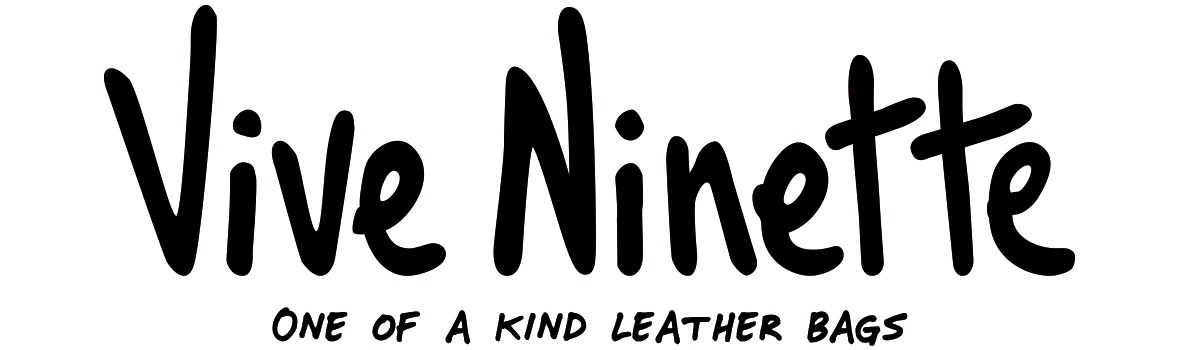 Vive Ninette | One of a kind leather bags