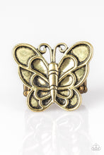 Load image into Gallery viewer, Sky High Butterfly - Brass  1488