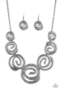 Statement Swirl - Black
