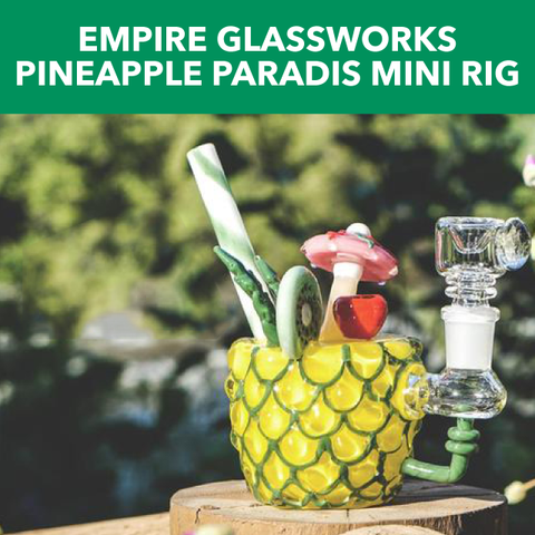 Empire Glassworks Pineapple Paradise Mini Rig Review