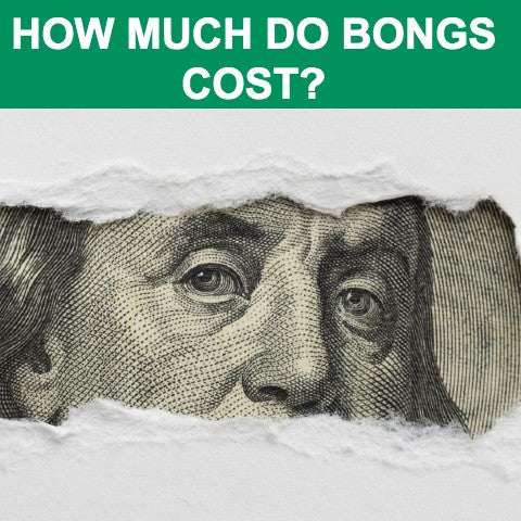 How much do bongs cost?