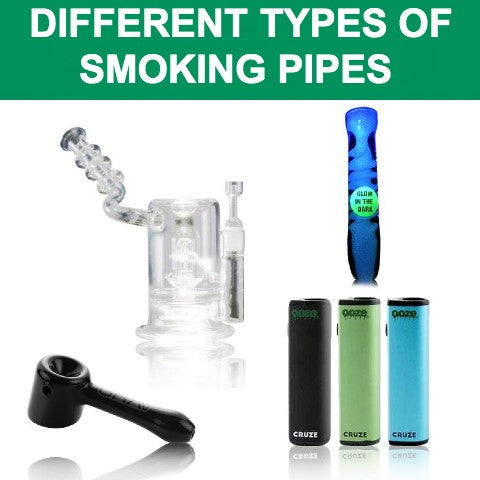 types of smoking pipes