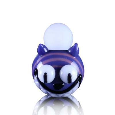 Cheshire Cat Pipe - Chameleon Glass