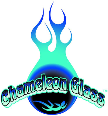 Monsoon Inverted Water Pipe - Chameleon Glass