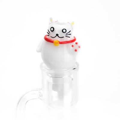 Zen Kitty Bubble Cap - Empire Glassworks