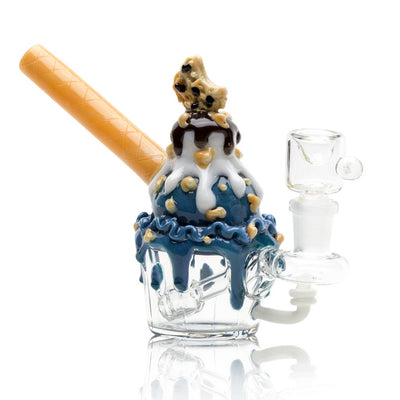 Cookie Monster Sundae Nano Rig - Empire Glassworks