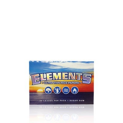 Ultra Thin Rice Rolling Papers - Elements
