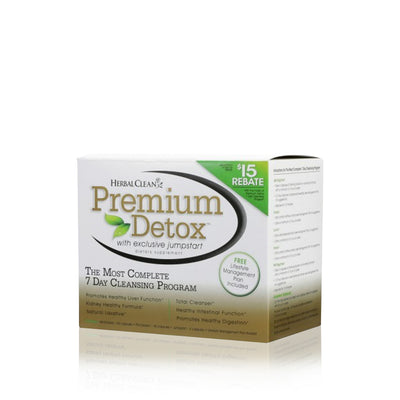 Premium Detox 7 Day Complete Cleansing Program - Herbal Clean