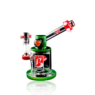 Stemless Glass on Glass Sidecar Dab Rig - 6B Glass