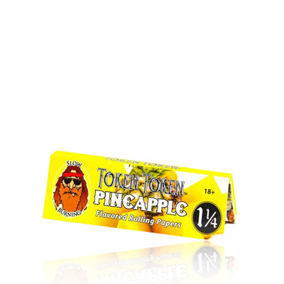 Pineapple Flavored Rolling Papers by Token Token