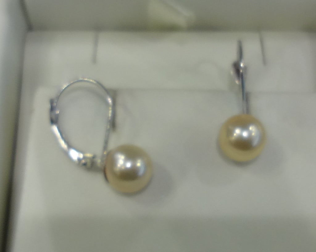 6.5-7mm Pearl Earrings