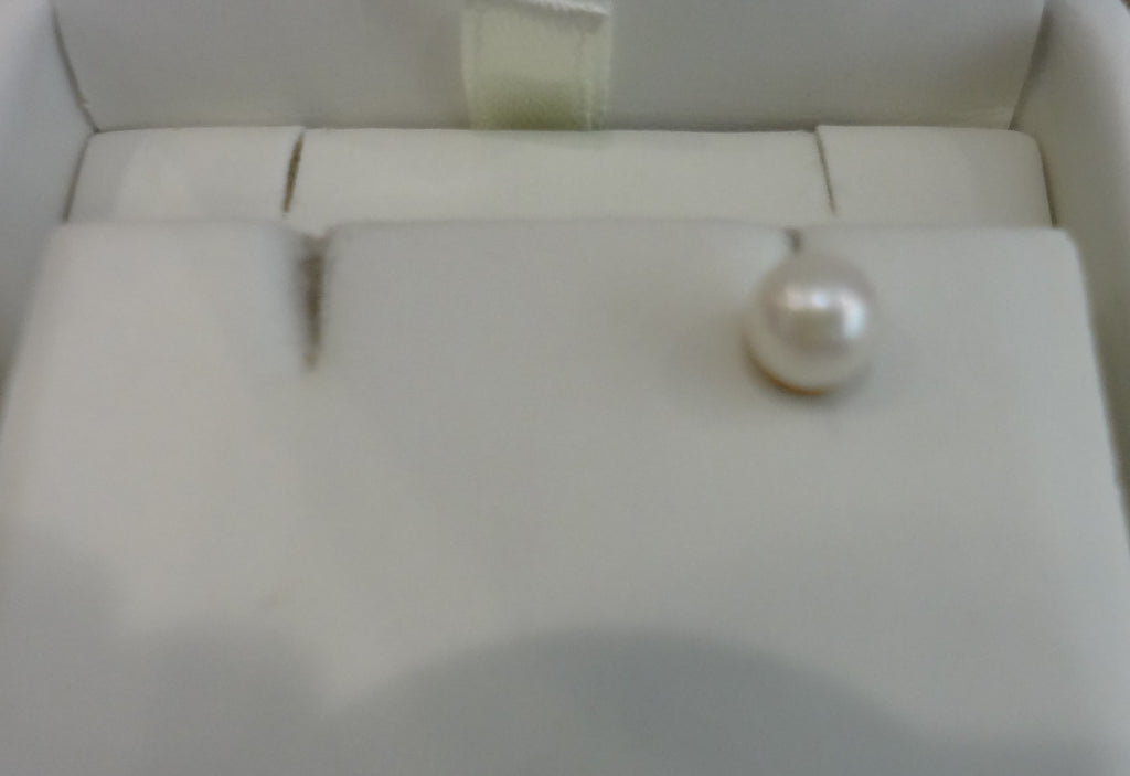 Single Cultured Pearl Earring