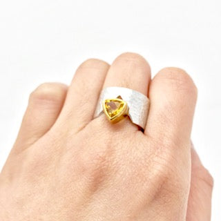 Juvite Ring with Citrine