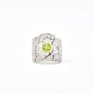 Juvite Ring with Peridot