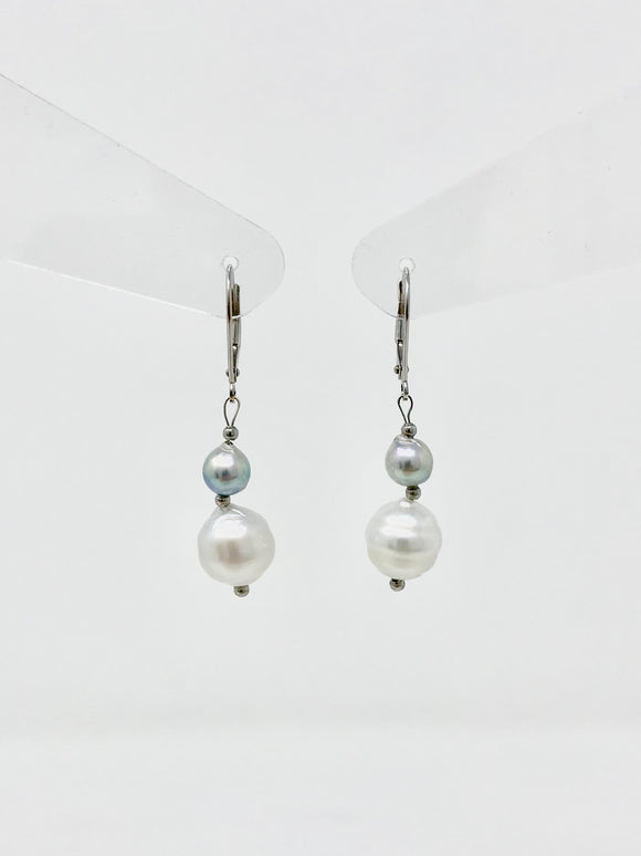 Southsea Pearl Drop Earrings