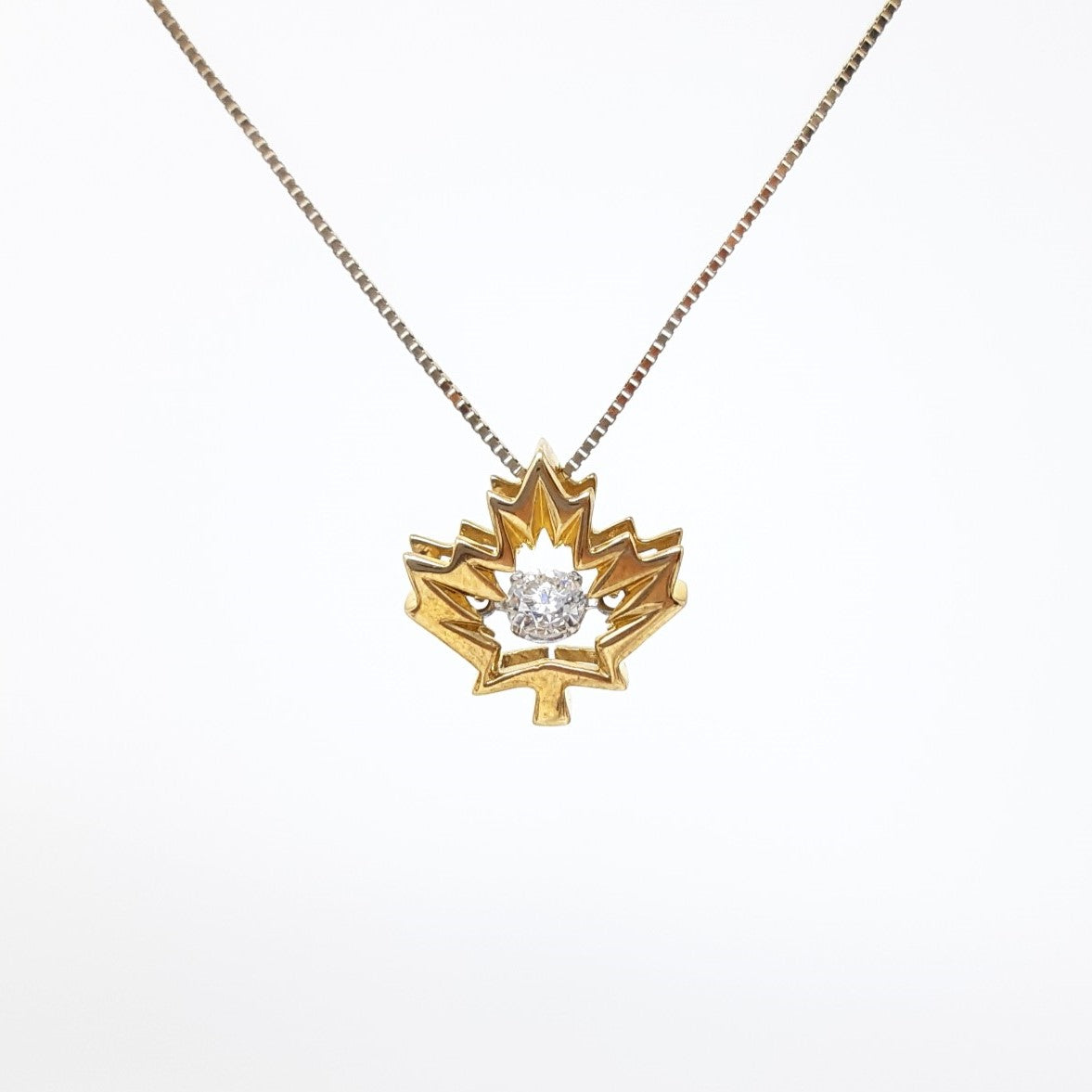 Canadian Diamond Pulse Pendant