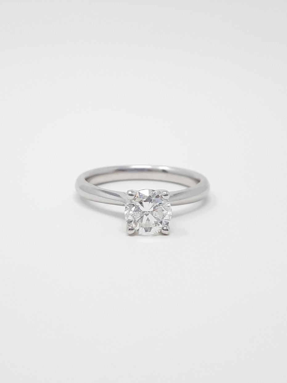 Full Carat Diamond Engagement Ring