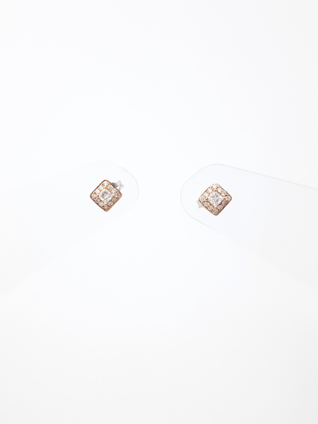 Two-Tone Canadian Diamond Earrings