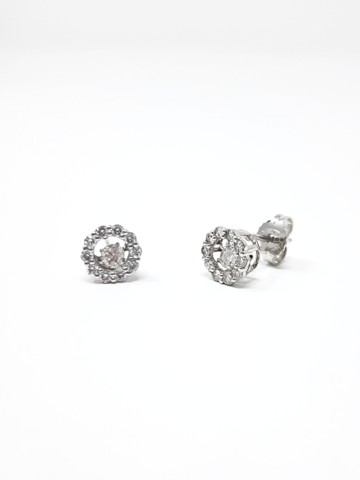 Diamond Pulse Earrings