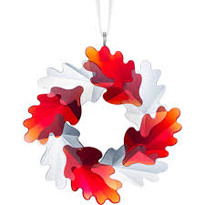 Swarovski Wreath Ornament, Leaves 5464866