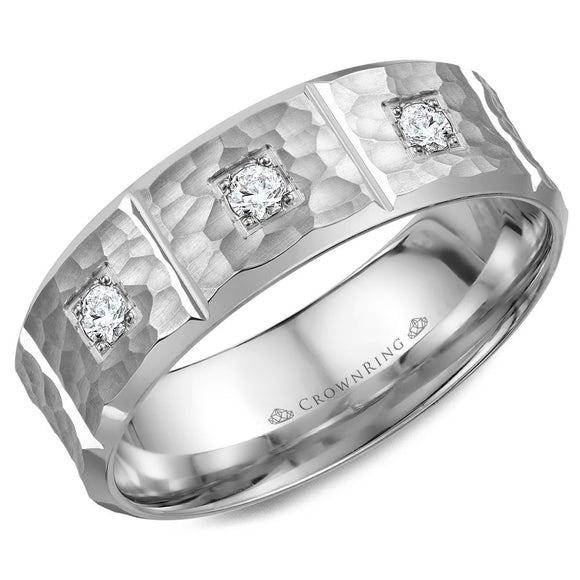 Crown Ring Band - WB-7968-M10