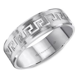 Crown Ring Band - WB-8045-M10