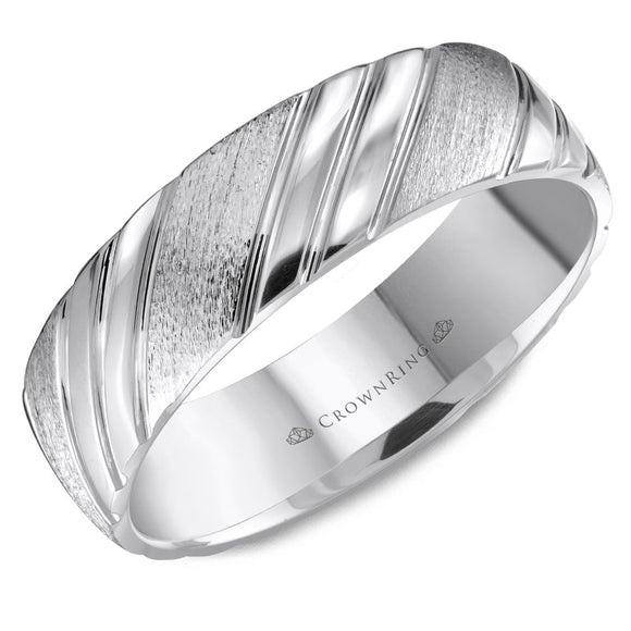 Crown Ring Band - WB-8051-M10