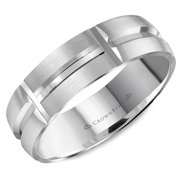 Crown Ring Band - WB-8060-M10