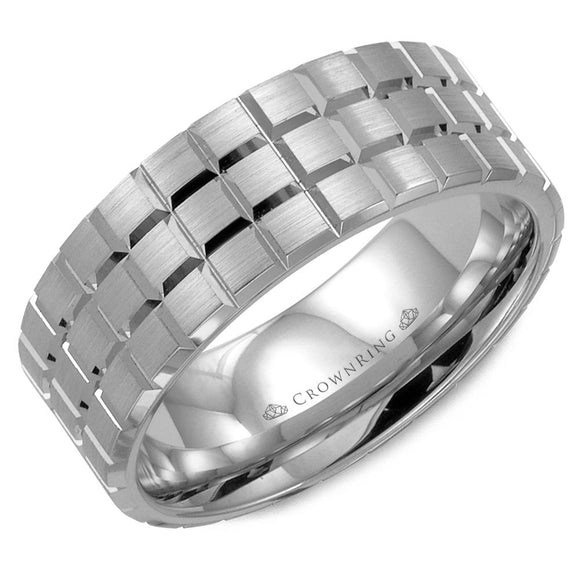 Crown Ring Band - WB-8172-M10