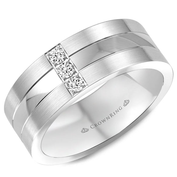 Crown Ring Band - WB-8252-M10