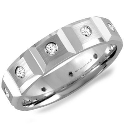 Crown Ring Band - WB-8509-M10