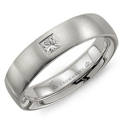 Crown Ring Band - WB-9009-M10