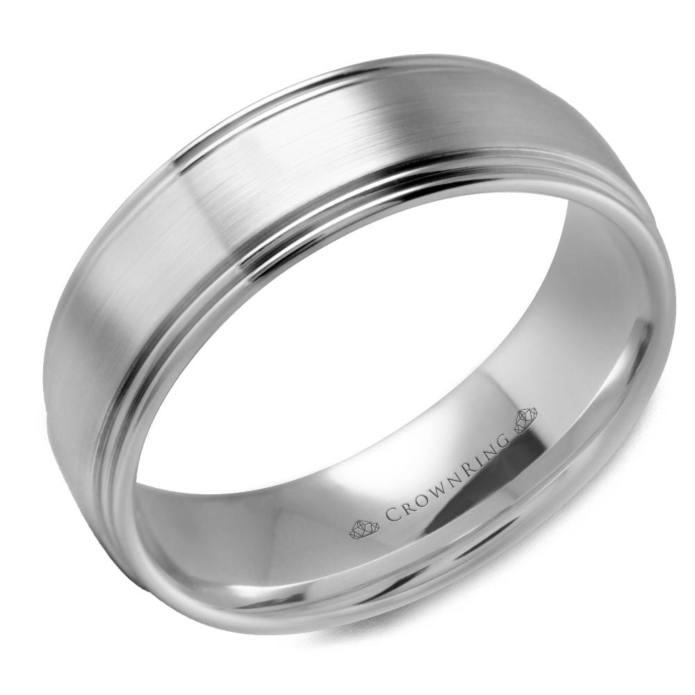Crown Ring Band - WB-9507-M10