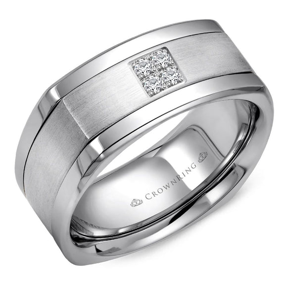 Crown Ring Band - WB-9671-M10