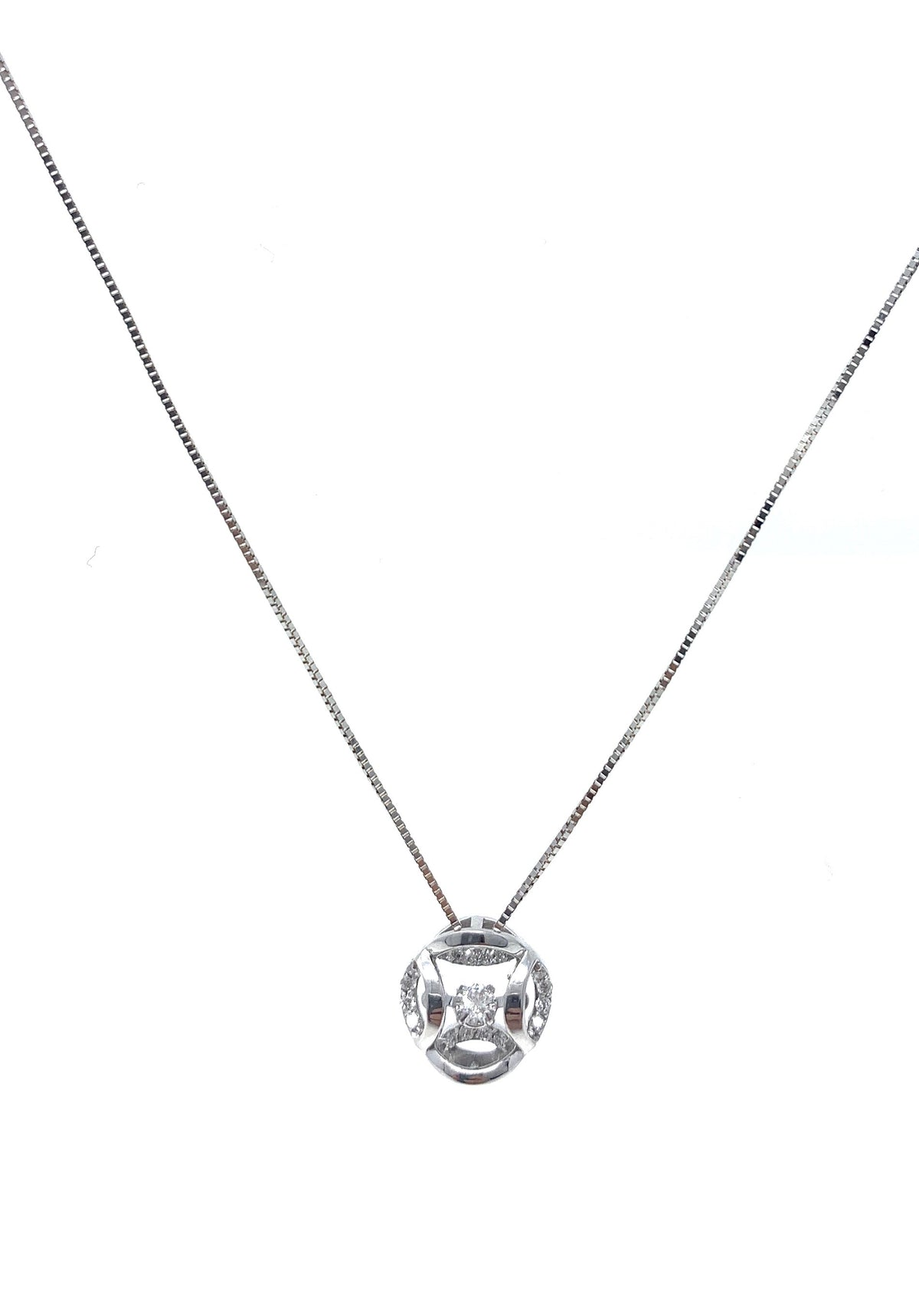 Diamond Pulse Pendant