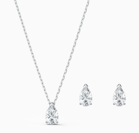 Swarovski Attract Pear Set 5569174